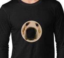 GOLDEN RETRIEVER  PUPPY PAINT PORTRAIT Long Sleeve T-Shirt