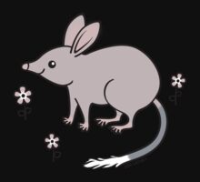 Pretty Bilby with Flowers Kids Clothes