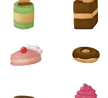 Sweets Sticker Set by Chabii