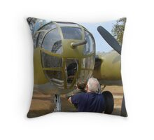 """""""Passing on History"""" Throw Pillow"""