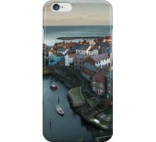 Staithes Panoramic, North Yorkshire iPhone Case/Skin