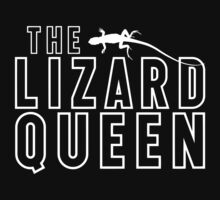 The Lizard Queen T Shirt For Reptile Lovers by wordsonashirt