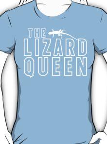 The Lizard Queen T Shirt For Reptile Lovers T-Shirt