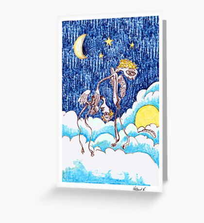 Fallen Angel Greeting Card