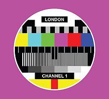 PURPLE CHANNEL 1 LONDON by jaysanstudio