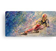 Skiing 08 Canvas Print