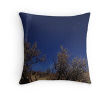 Desert brush Throw Pillow