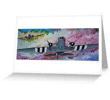C47 Sky train Greeting Card