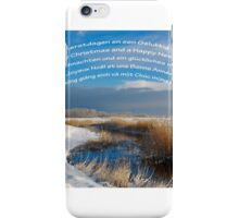 Merry Christmas & a Happy New Year! iPhone Case/Skin
