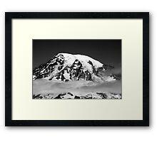 """""""Mt. Rainier"""" Framed Print"""