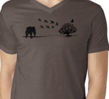 Paciderm Mens V-Neck T-Shirt
