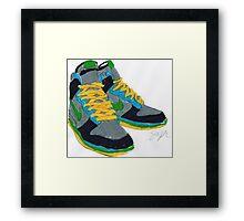 Nike Sneakers Framed Print