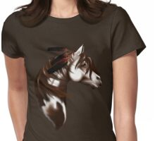 Feathered Horse Womens Fitted T-Shirt