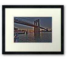 East River Rising Framed Print