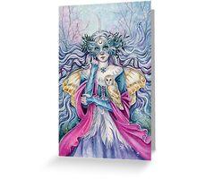 Winter Fay Greeting Card