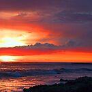 Ocean at Dusk by Nancy Stafford