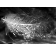 Floating Feather Dreams Photographic Print