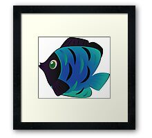 Colorful fish 5 Framed Print