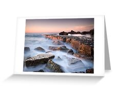 Forresters Beach Study # 4 Greeting Card
