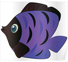 Colorful fish 6 Poster