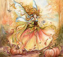 """""""Dance of Autumn"""" by Jannafairyart"""