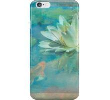 Water Lily with Friend iPhone Case/Skin
