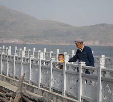 Grandfather and Grandchild by Shakti Hurst