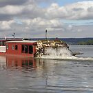 Millersburg Ferry - Roaring Bull V by James Wheeler