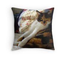 Little Ginger Throw Pillow