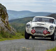 The Three Castles Welsh Trial - Healey 3000 - Photo Max Earey by Three-Castles