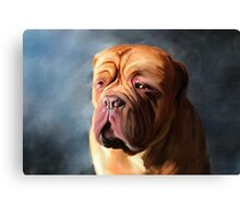 Stormy Dogue Canvas Print