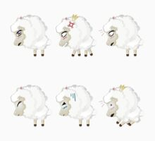 Chibi Sheeps One Piece - Long Sleeve