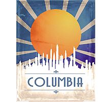 Vintage Columbia Poster Photographic Print