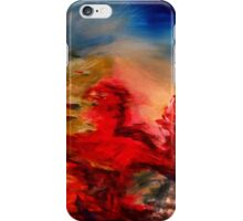 Expressionist abstract painting iPhone Case/Skin