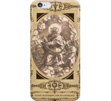 Saint Matthew The Evangelist iPhone Case/Skin
