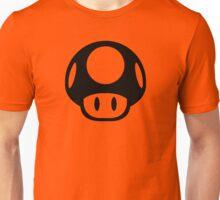 Super Mario Bros. Symbol - Super Smash Bros. (black) Unisex T-Shirt