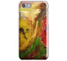 Figurative expressionist painting iPhone Case/Skin