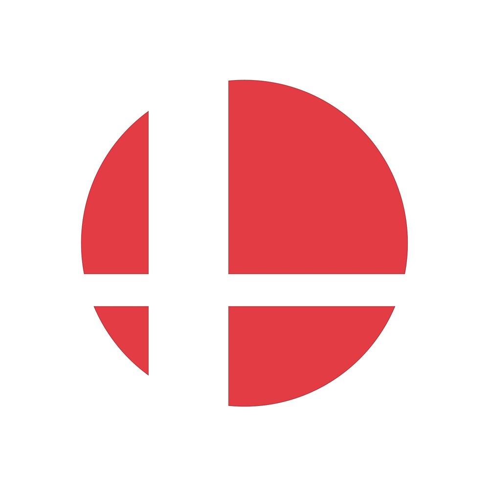 Quot Super Smash Bros Symbol Color Quot By Hopperograss Redbubble