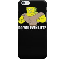 The Sponge Lifts iPhone Case/Skin