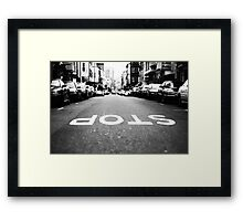 Backwards World Framed Print
