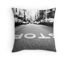 Backwards World Throw Pillow