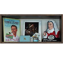 Collection of  Tobacconalia in Various Forms and the Related Accoutrements trompe l'oeil  Photographic Print