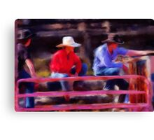 Rodeo Cowboys Canvas Print
