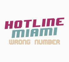 Hotline Miami: Wrong Number Kids Clothes