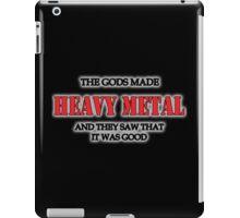 Heavy Metal Tshirt iPad Case/Skin
