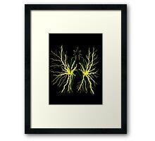 Electro Framed Print