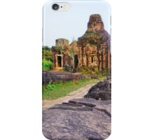 Vietnam: My Son Sanctuary iPhone Case/Skin