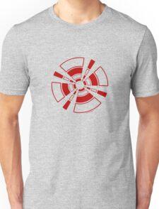 Mandala 24 Colour Me Red Unisex T-Shirt