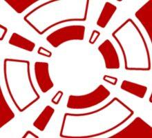 Mandala 24 Colour Me Red Sticker