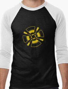 Mandala 24 Yellow Fever Men's Baseball ¾ T-Shirt